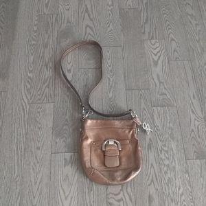 Genuine leather crossbody bag by b.Makowski